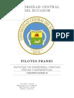Pilotes Franki - Trabajo PrimerHemi