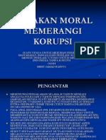 (Konsep) Gerakan Moral Memerangi Korupsi _ 8 Juli 2012