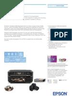 Epson Stylus Photo PX650 Broschuere De