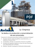 Inventarios en La Empresa Avinka