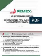 09-01-14 Reforma Energética - PEMEX
