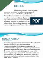 CIENCIA POLITICA 17 Politica Internacional