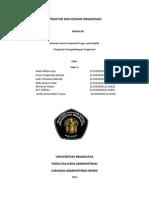 Makalah Struktur Dan Desain Organisasi Kelas a Kelompok 6