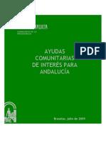 Ayudas comunitarias de interés para Andalucía