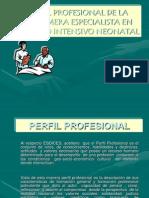 Perfil profesional de la enfermera en la UCIN.ppt