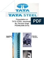 presentation on tata steel