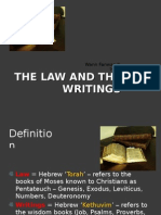 The Law and the Writings