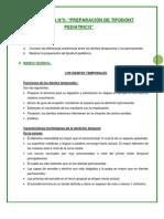 PRÁCTICA Nº5 PREPARACIÒN DE TIPODONT PEDIATRICO