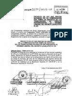 PL que precisa alcances de la compensación por tiempo de servicios de los trabajadores de ESSALUD pertenecientes al régimen laboral del Decreto Legislativo 276
