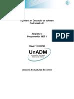DPRN Unidad 3. Estructuras de Control