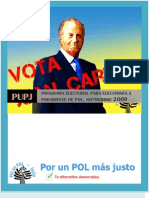 Elecciones Presidente Pol