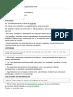 Ficha individual de avaliação semestral