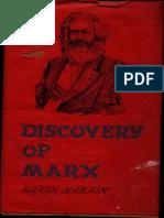 Discovery of Marx - Harsh Narain