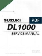 Suzuki DL1000 Service Manual