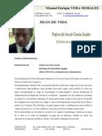 Curriculum-Vitae Manuel Vera