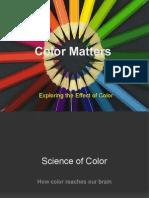 Presentation on Color