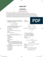 AIEEE 2007 Chemistry