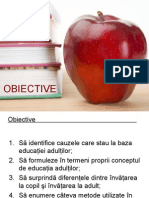 educatia adultilor- proiect