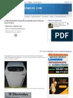 Como Reparar Tarjeta Lavadora HTML