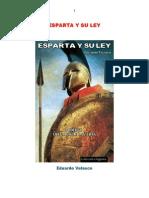 Eduardo Velasco Europa Soberana Esparta y Su Ley