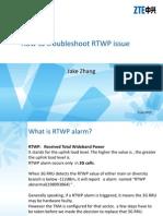 Troubleshoot RTWP Issue