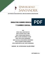 ENSAYOS_Educación y Cambio social_Gpo 16
