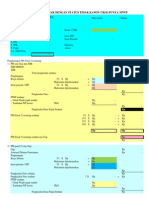 Perhitungan PPh21 Dgn NPWP & Non NPWP