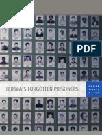 Burma's Forgotten Prisoners