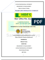 Career Path in Hdfc