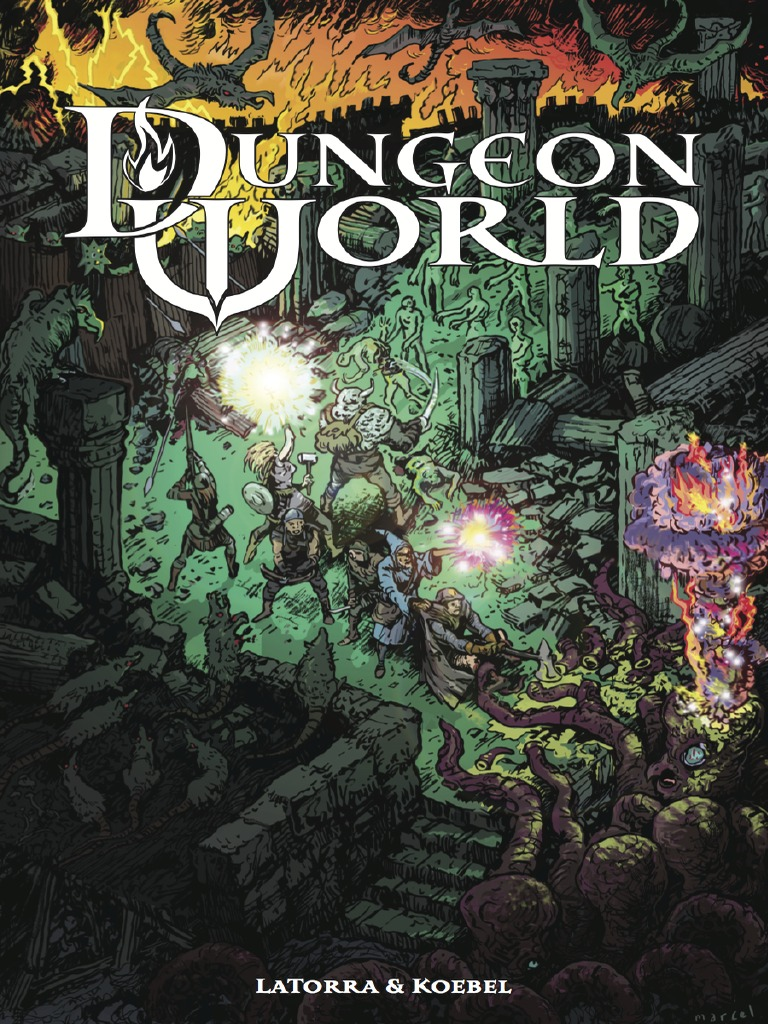 158172180 Dungeon World RPG | Leisure