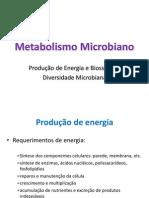 Metabolismo Microbiano ENA 2013