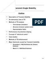 Transient Angle Stability