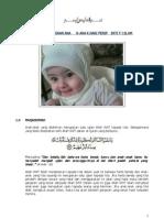 Konsep Pendidikan Anak Dalam Islam