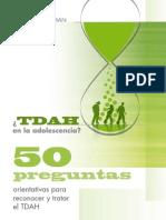 TDAH en La Adolescencia