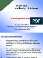 Antennas-9 - Travelling Wave Antennas