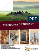 Recipes of Tuscany - Travel Team FREE CALL 1800-66-TRAVEL