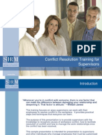 PPT-Conflict Resolution SHRM