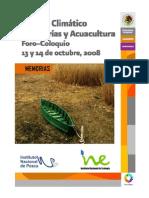 Cambio Climatico en Pesquerias y Acuacultura