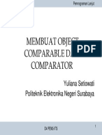 T - Comparable Dan Comparator