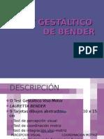 TEST GESTALTICO DE BENDER