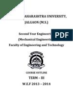 SE Mechanical Syllabus Wef _2013_2014
