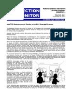 NAMFREL Election Monitor Vol.3 No.3 11302013