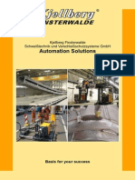 Kjellberg Finsterwalde Brochure Automation Solutions