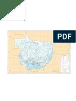 Mapa Rodoviario de Mato Grosso