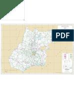 Mapa Rodoviário de Goiás