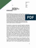Functionalism and Cultural Studies