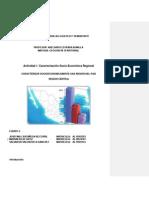 Actividad 1 Caracterizacion Socio Economica Regional