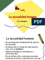 1. La Sexualidad Humana