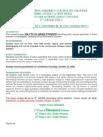 1--AEW Essay Instructions 5th Grader Blog 9-16-09
