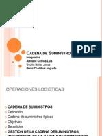Cadena de Suministro - Pérez - Usurin - ARELLANO